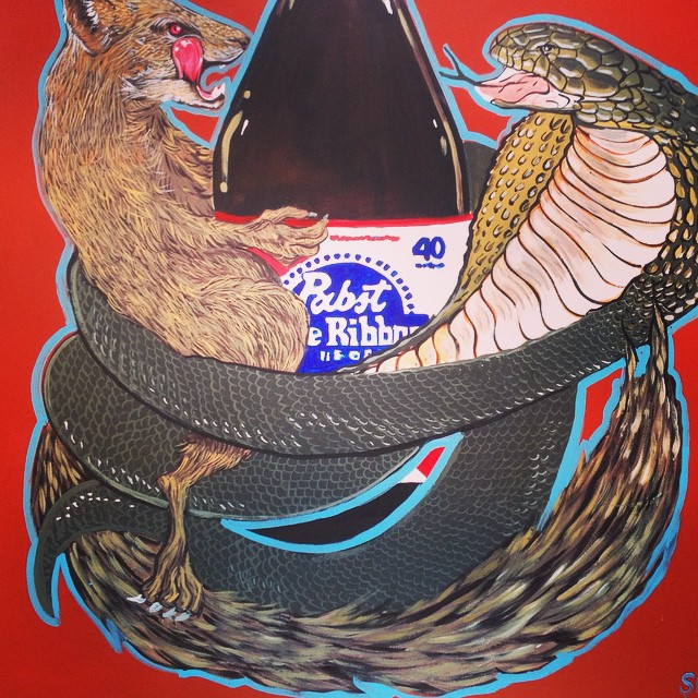 New one for #PBR and #commonmarket  Mongoose v cobra!